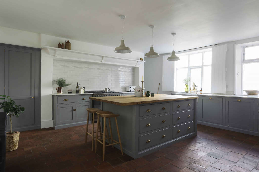 The Cheshire Townhouse Kitchen by deVOL  Remodelista