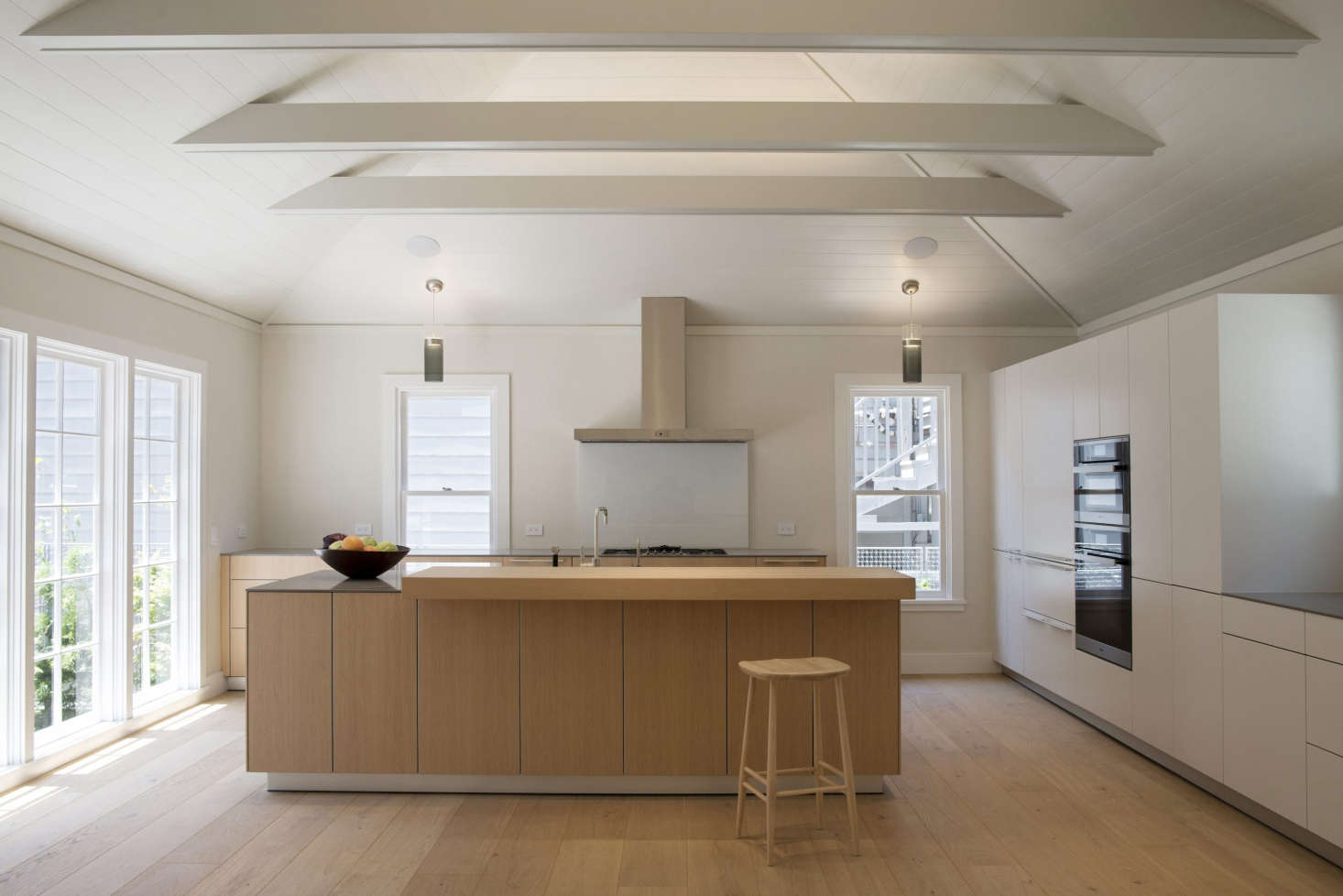designing a kitchen how to build outdoor expert advice an architect s 15 essential tips for the with cathedral ceilings and shiplap paneling in san francisco filbert cottages reenvisioned by