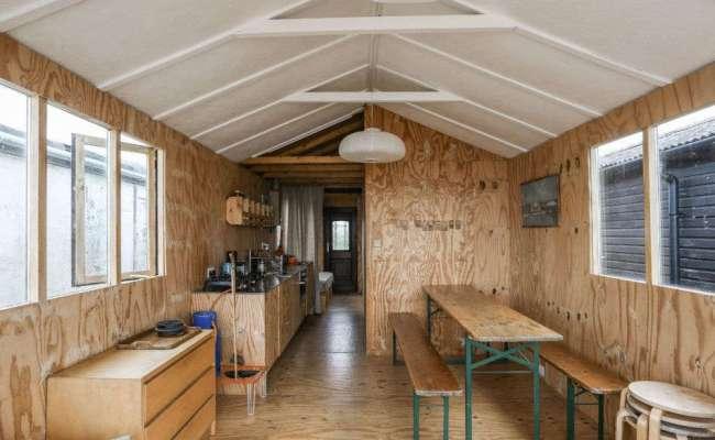 Stylish Tiny House Beach Shack With Ikea Hack Kitchen