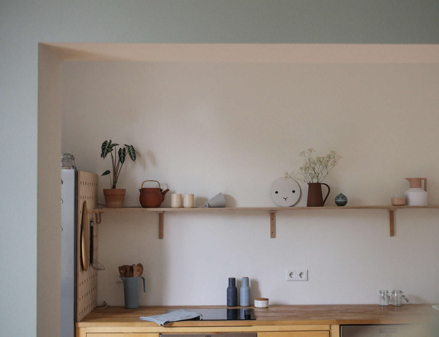 Stylish Ikea Kitchen From Used Ikea Components