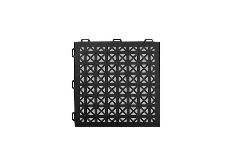 home depot kitchen sinks and faucets kohler greatmats staylock perforated pvc plastic interlocking tile