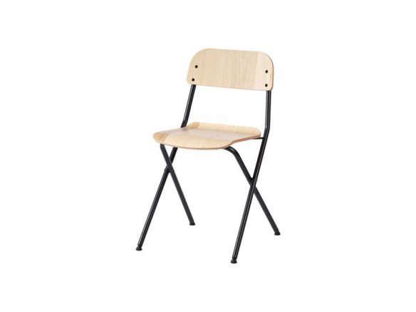 ikea folding chair moulding ideas vassad gray 584x438 jpg