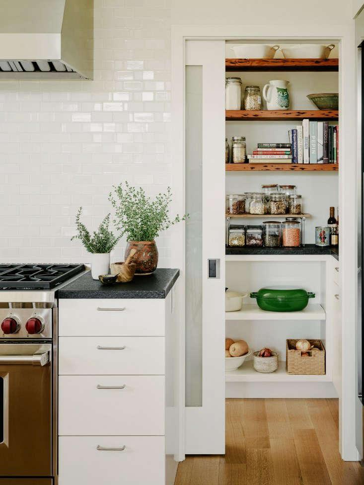 pantry kitchen tiles size a peek inside the 11 storage favorites remodelista in portola valley california by architect malcolm davis cooking range