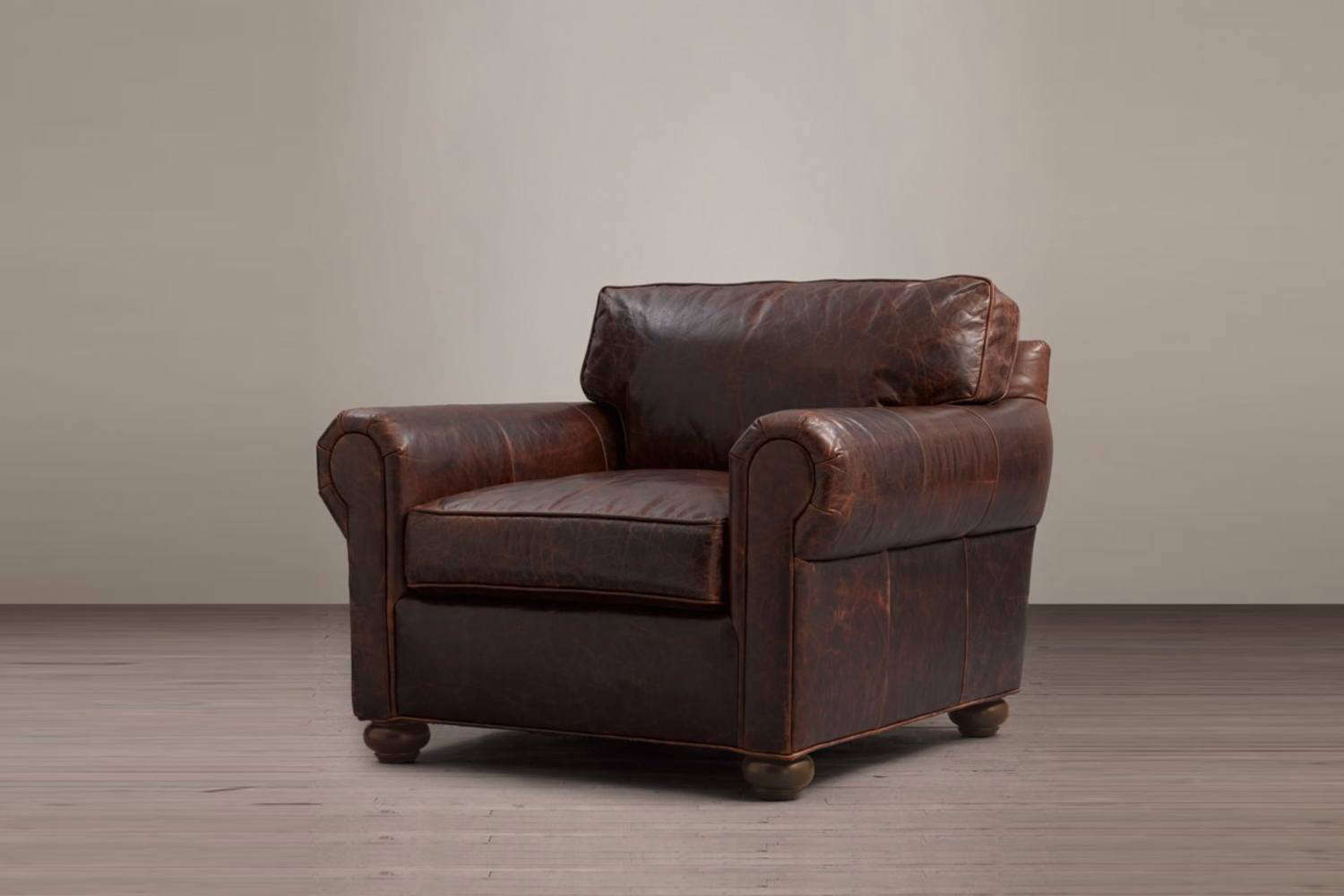 Restoration Hardware Leather Chairs Original Lancaster Leather Chair