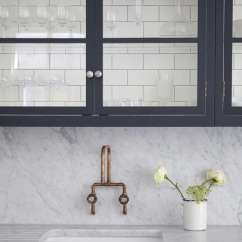 Kitchen Wall Faucets Floor For Remodeling 101 In Praise Of Mounted Remodelista An Added Plus Open Easy To Clean