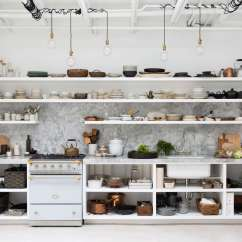 Backyard Kitchens Kitchen Sink Cabinets Lowes Of The Week A In Berkeley Ceramics We Like Formula That Photographers And Stylists Apply To Their Own Simple Trend Proof Bones Plus Ad Hoc Lighting Stacks