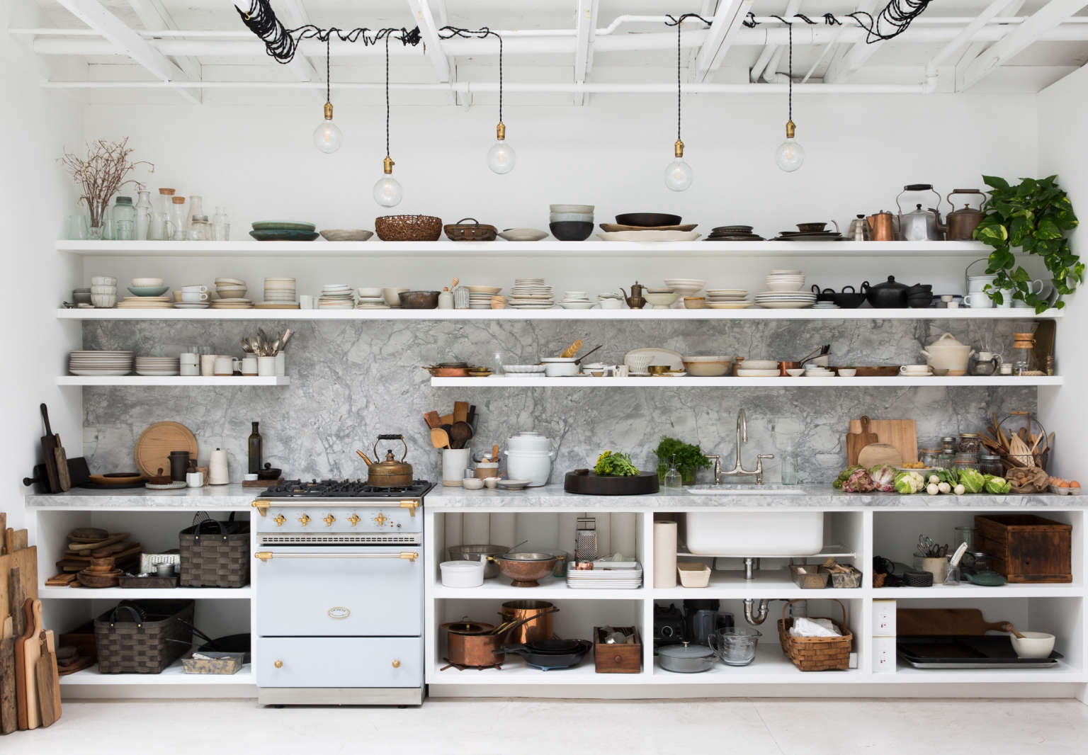 backyard kitchens wall pictures for kitchen of the week a in berkeley ceramics we like formula that photographers and stylists apply to their own simple trend proof bones plus ad hoc lighting stacks