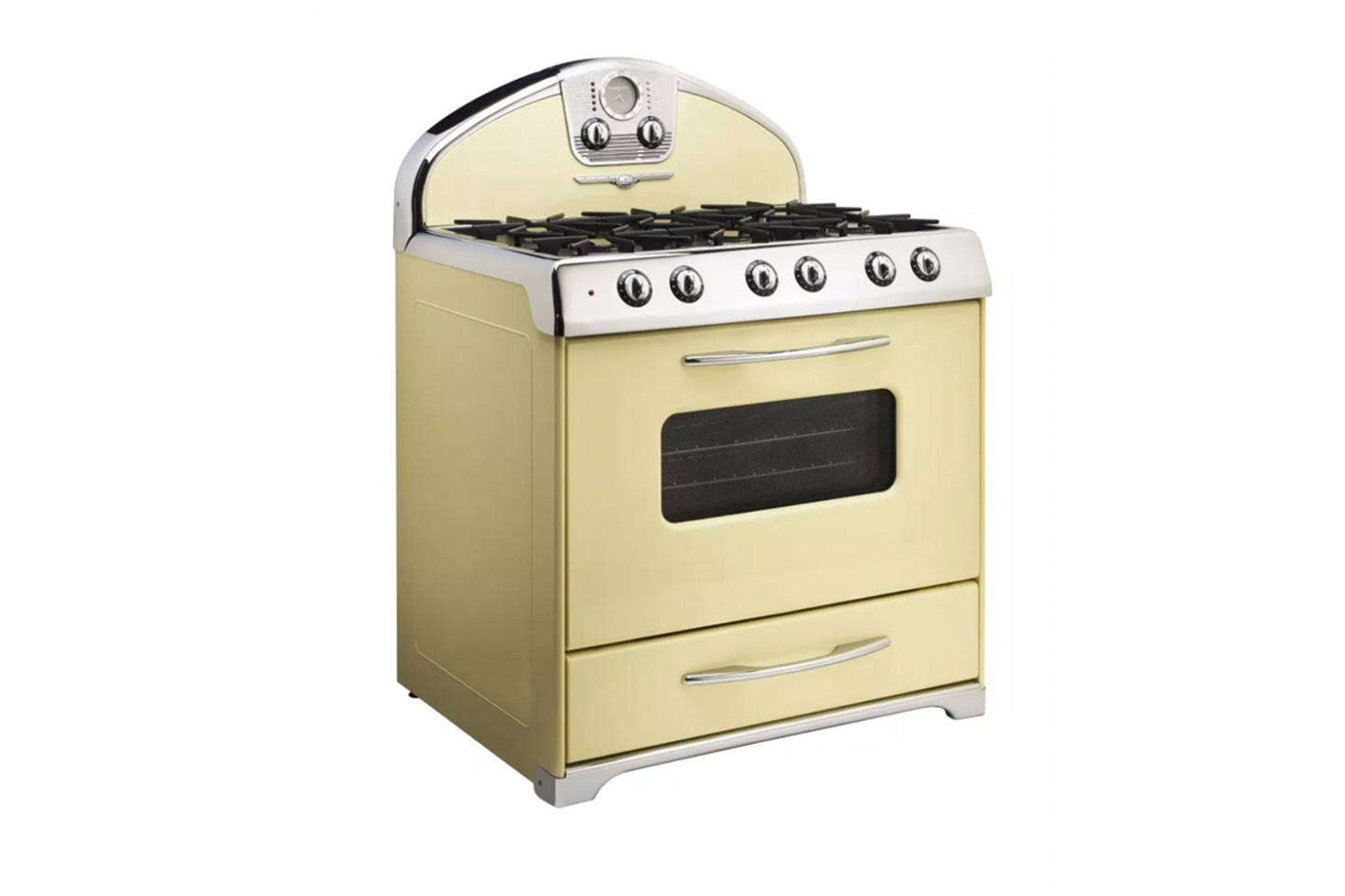 vintage kitchen stoves farm sink 10 easy pieces retro ranges remodelista the northstar style range is a north american designed in 1947 that s available