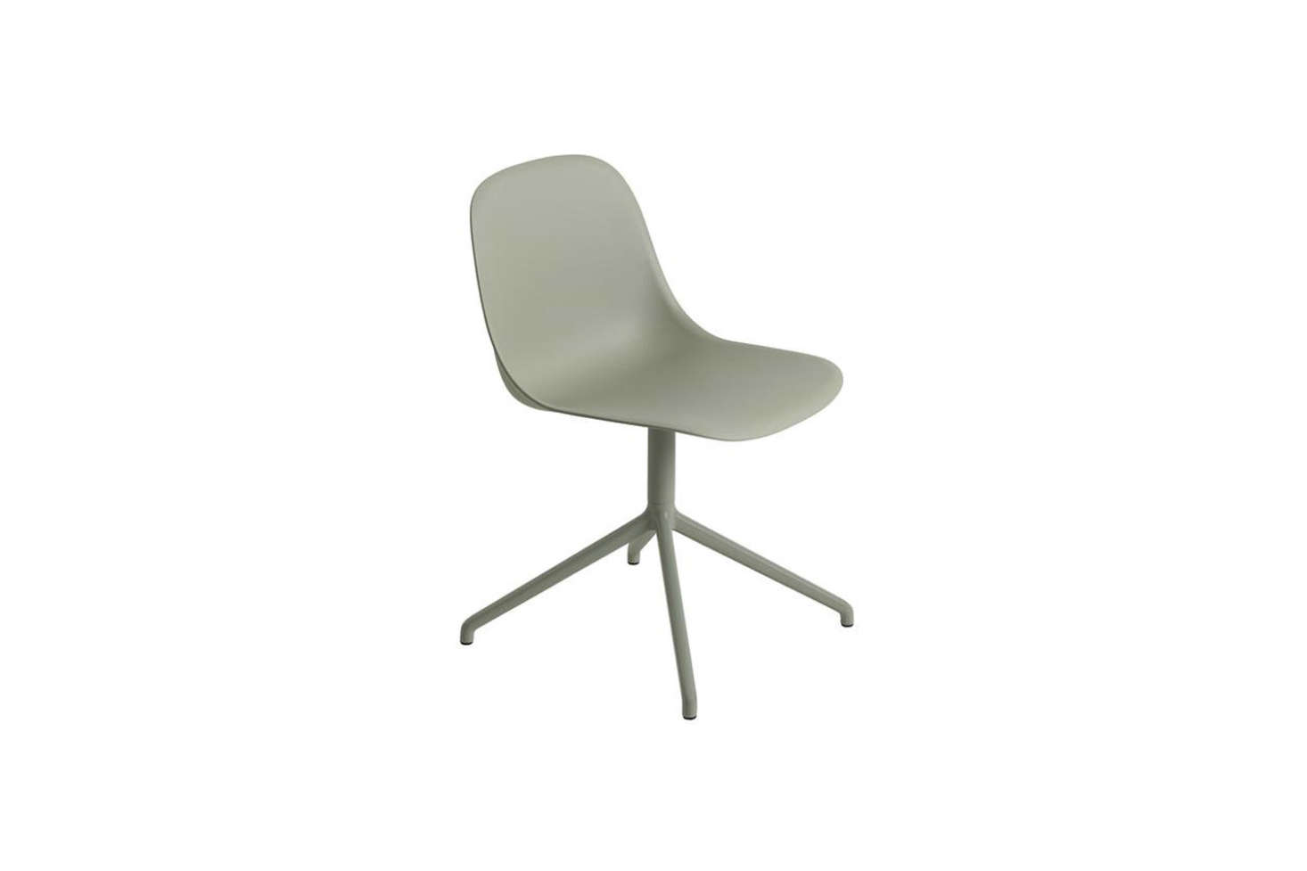 office chair steel base with wheels best canopy 10 easy pieces modern desk chairs without remodelista the muuto fiber side a swivel comes in six colors shown