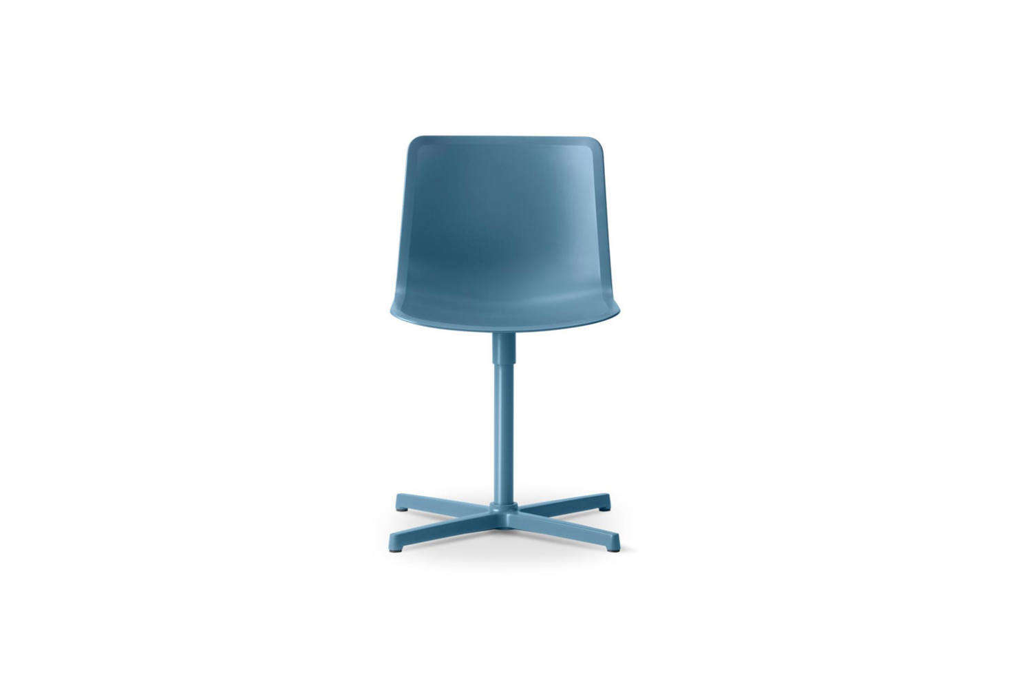 office chair not on wheels belmont dental chairs prices 10 easy pieces modern desk without remodelista the welling ludvik pato veneer swivel is available in a range of color options