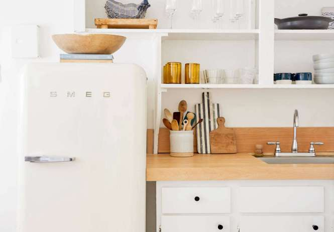 She Had Recently Renovated The Small Kitchen In Her 363 Square Foot Apartment