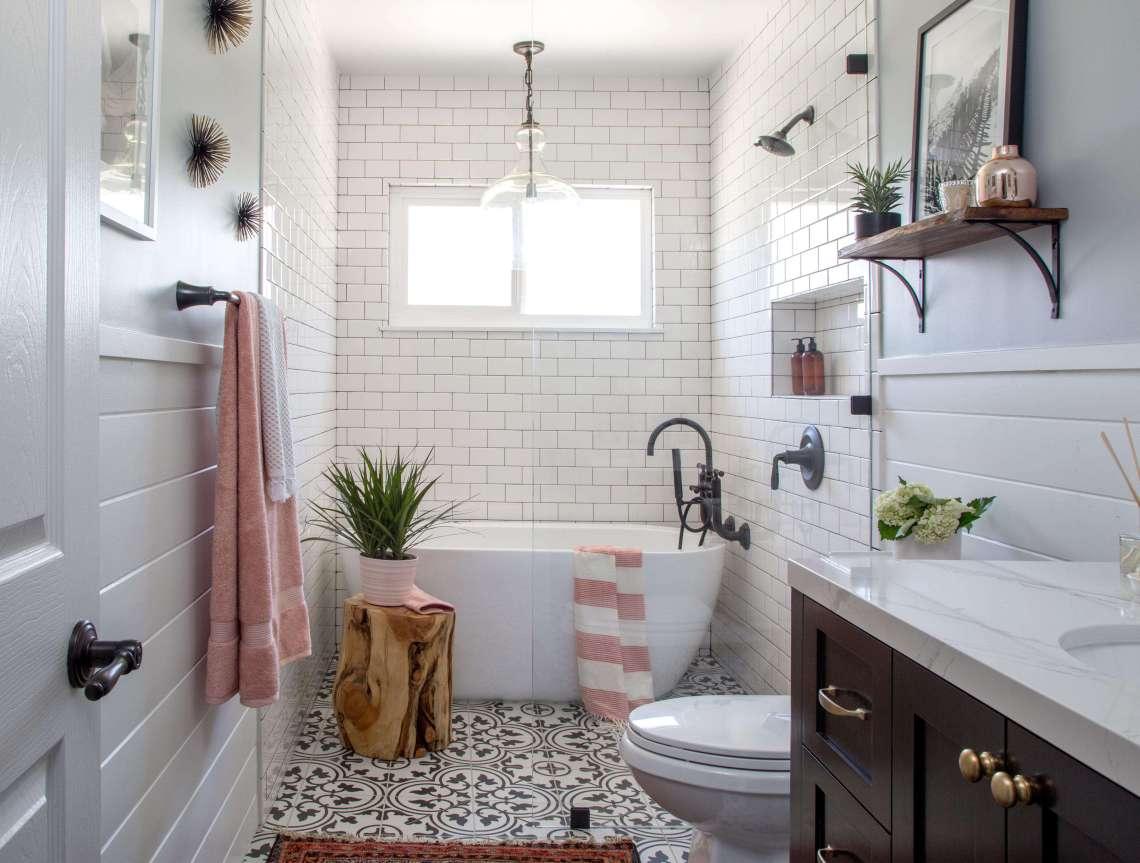 Modern Farmhouse Bath Remodel - Remodelista