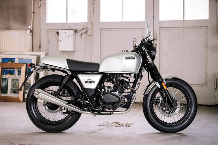 Retro 125cc Brixton Motorcycles BX125R