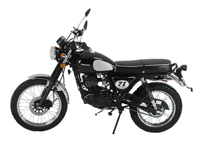Retro 125cc - Sinnis Scrambler 125cc Left