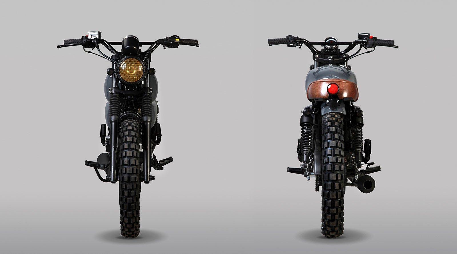 Mutt Motorcycle Hilts 125cc