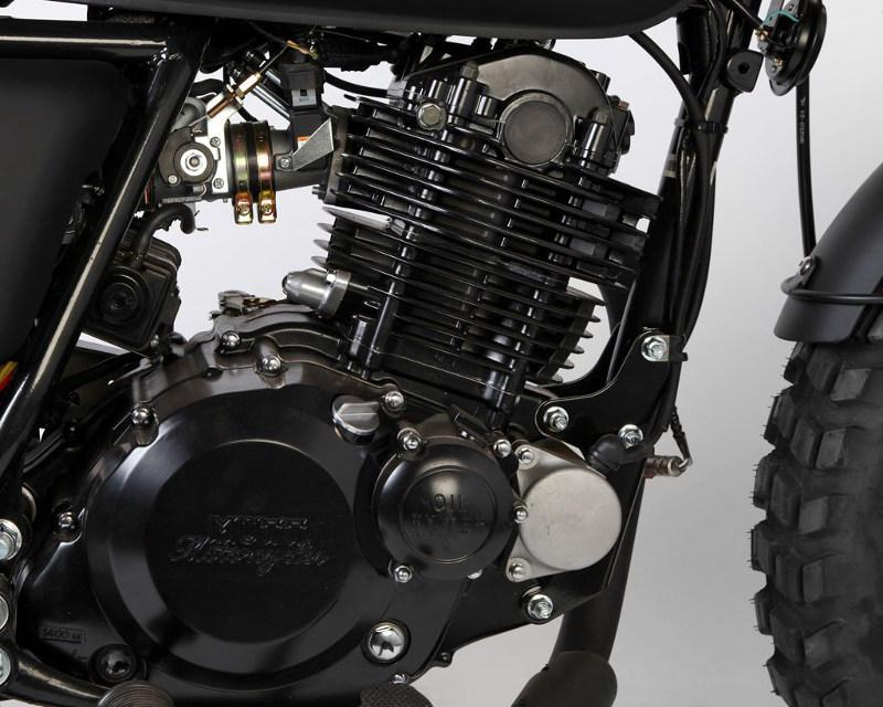 Mutt Motorcycles Sabbath Engine
