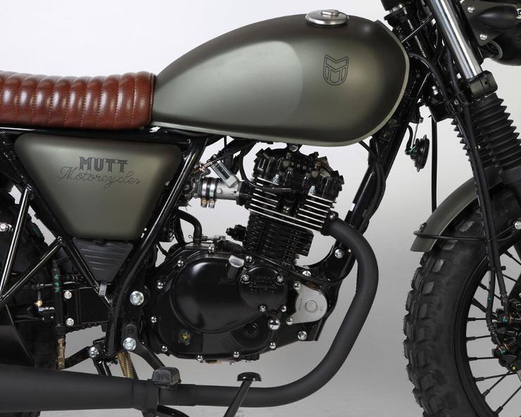Mutt Motorcycles Hilts Green 125 Tank