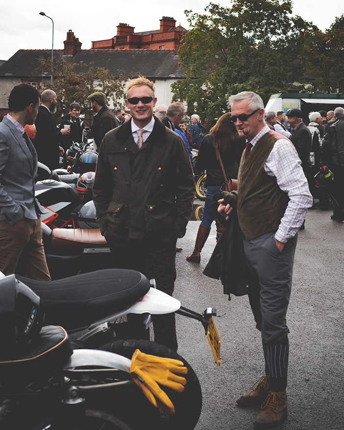 Distinguished Gentleman's Ride - Riders