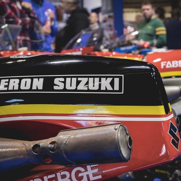 Rear Cowl, Barry Sheene Heron Suzuki GP Racing Motorcycle