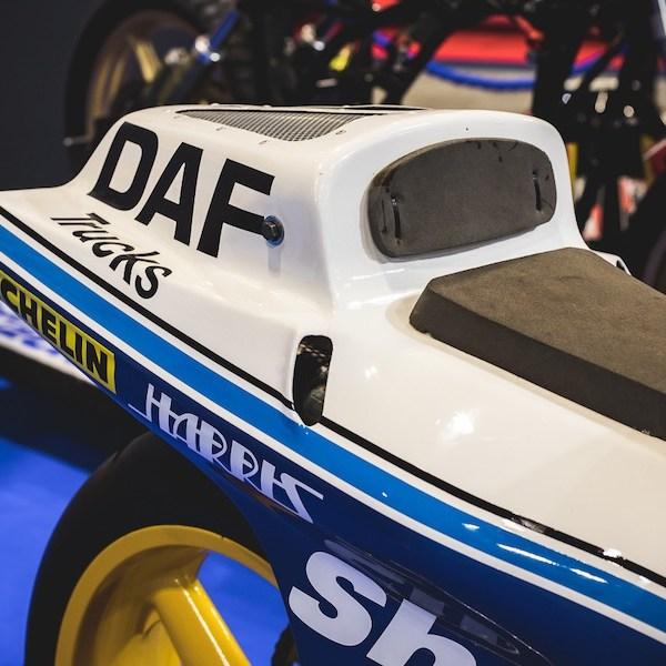 Seat, Barry Sheene DAF Trucks GP Racing Motorcycle
