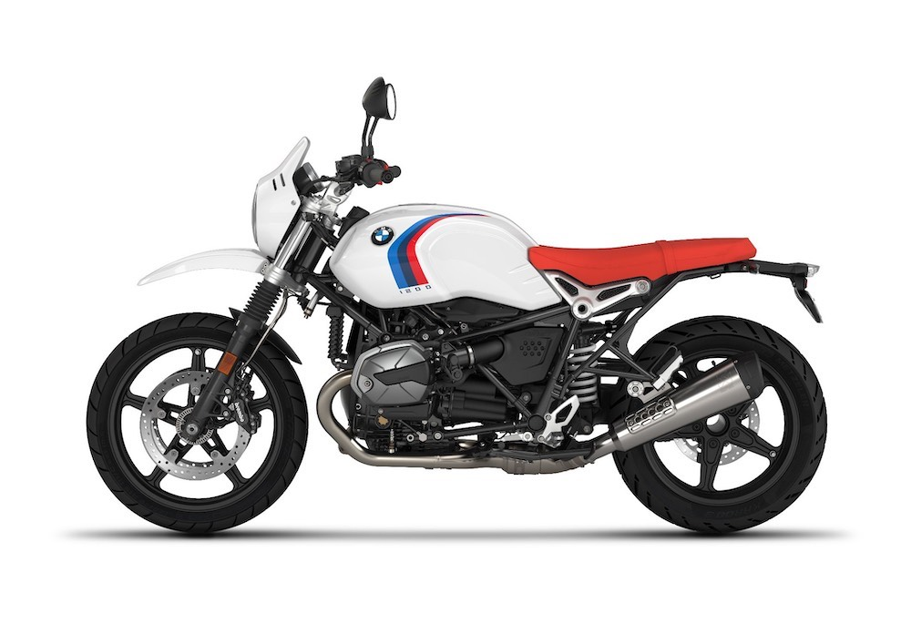 R nineT Urban GS Light white with tape
