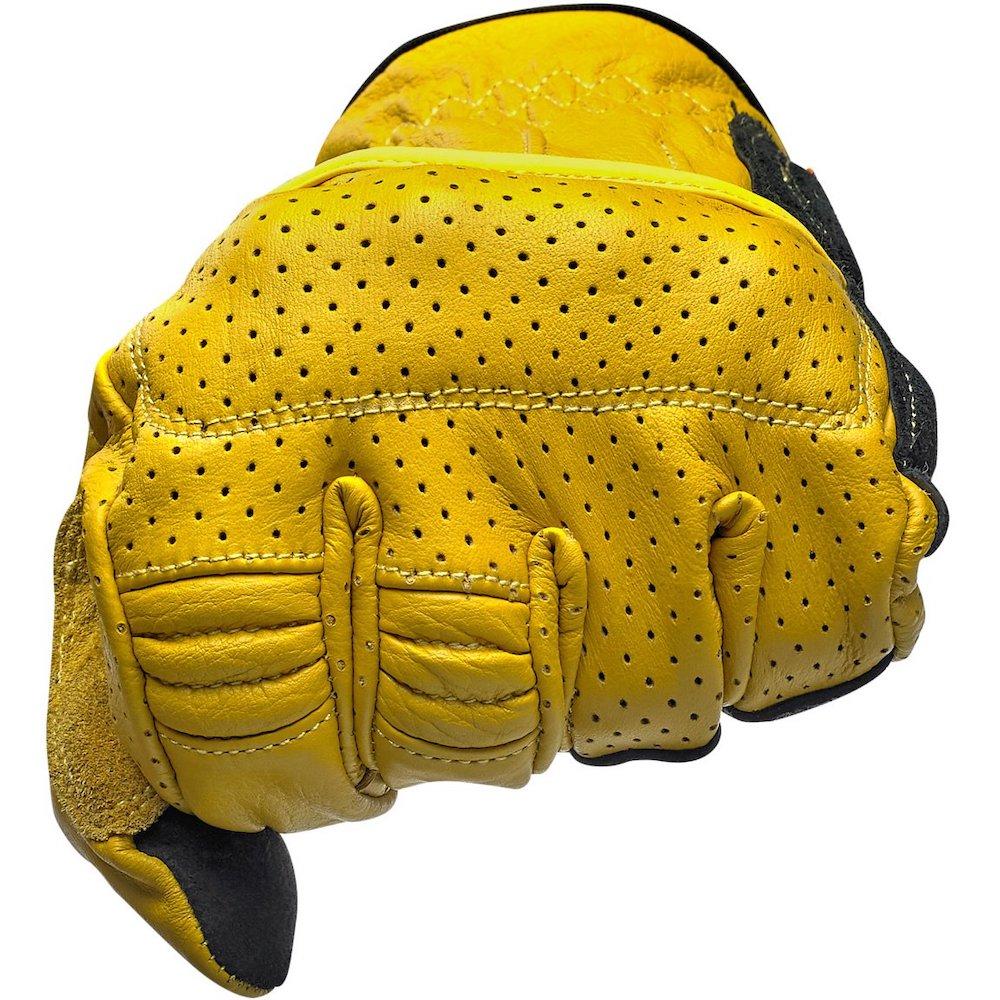 Borrego Gloves - Gold/Black knuckle