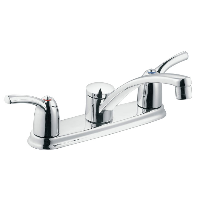 two handle kitchen faucet honest perfect form moen adler 2 87412 reno depot