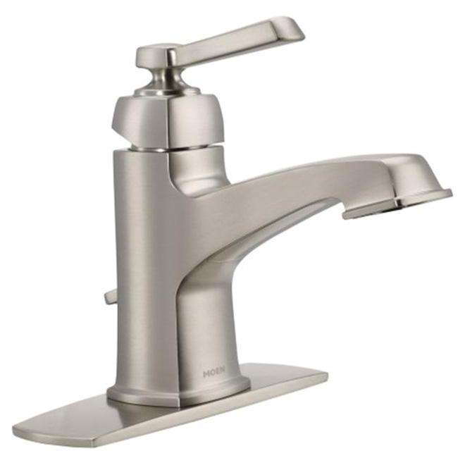 bathroom faucet boardwalk brushed nickel