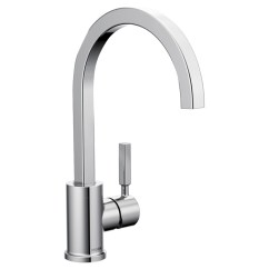 Moen Kitchen Faucets Modular Countertops Faucet Nori 1 Lever Chrome 87447 Reno Depot