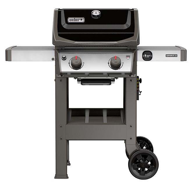 barbecue au gaz propane liquide weber spirit ii e210 450 po noir