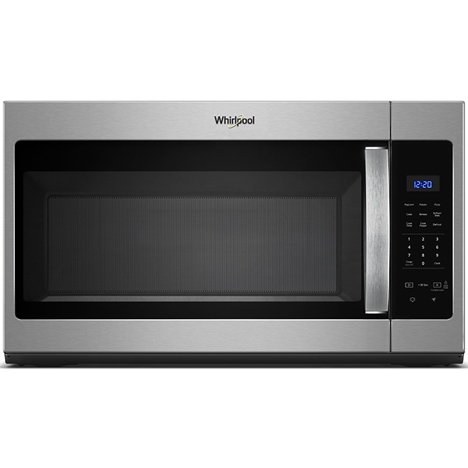 over the range microwave oven 1 7 cu ft 900 w ss