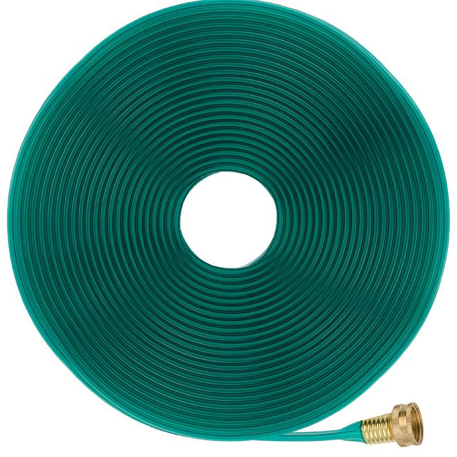 Boyau d'arrosage perforé. Miracle-Gro(MD). PVC. 50'. vert SMG13059 | Réno-Dépôt
