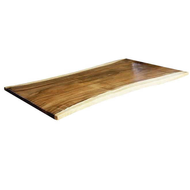 dessus de table bois d acacia 70