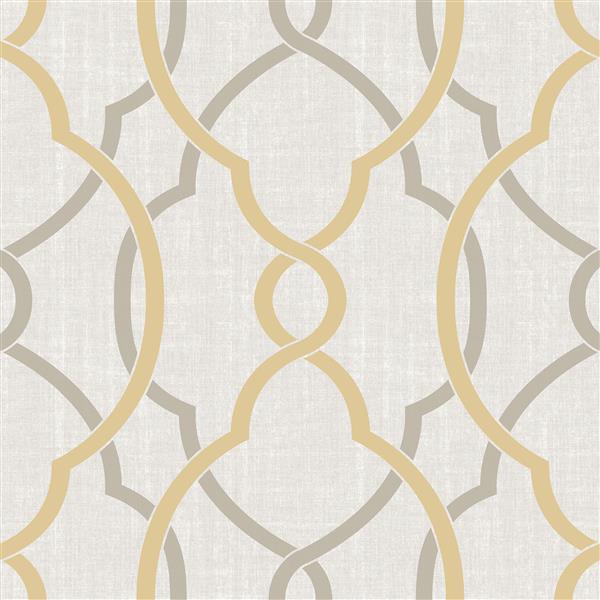 papier peint autocollant sausalito 20 5 x 216 jaune