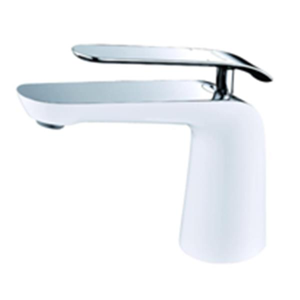 sera robinet de vanite de salle de bain condor blanc and chrome