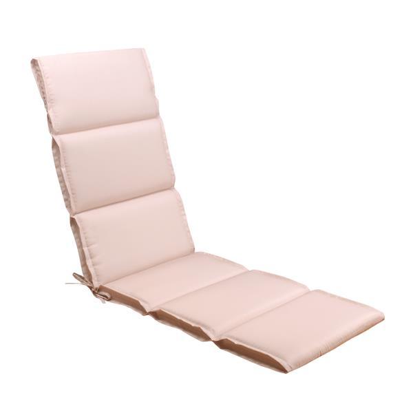 coussin de chaise longue millano beige rose