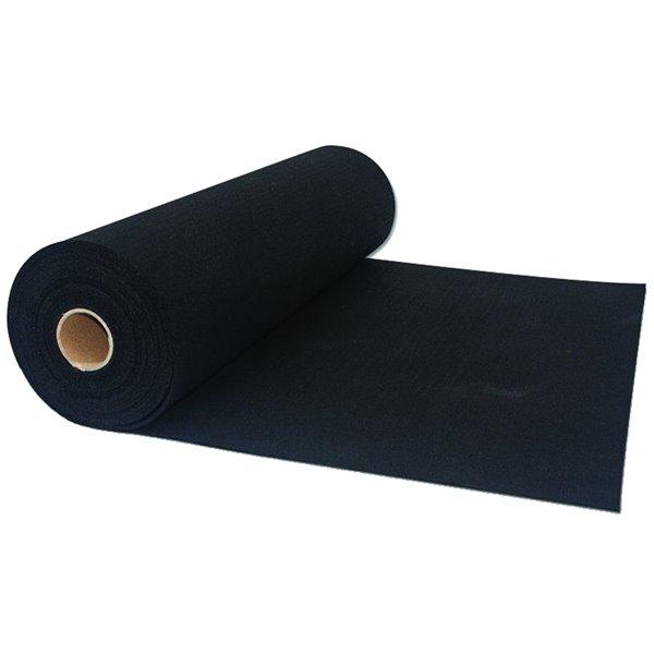 sous tapis rubbermax de synx 32 pi x 5 pi 160 pi noir
