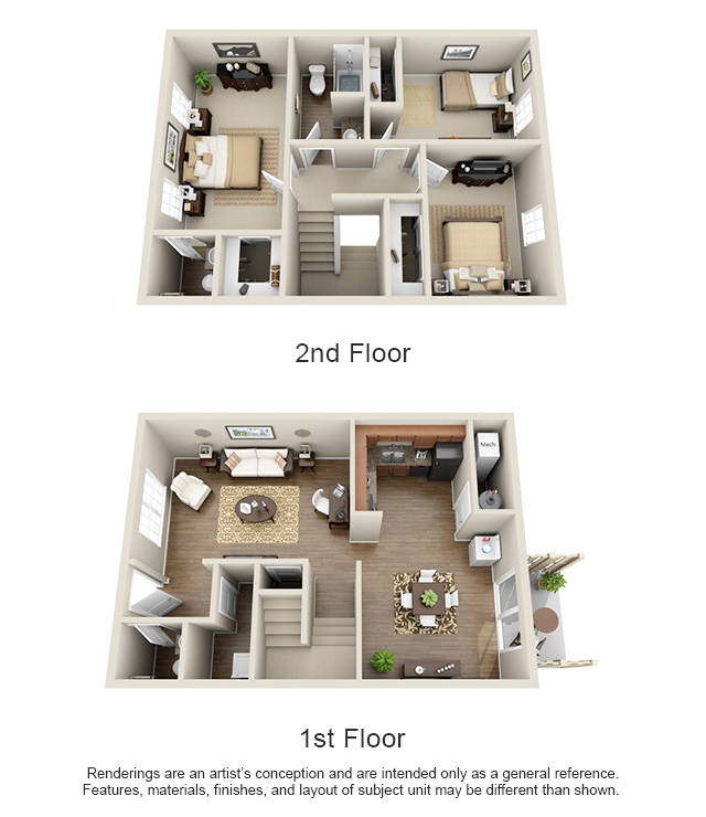 one, two and three bedroom apartments in nashville, tn