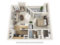 1 and 2 Bedroom Apartments in Carrollton, TX | Layouts