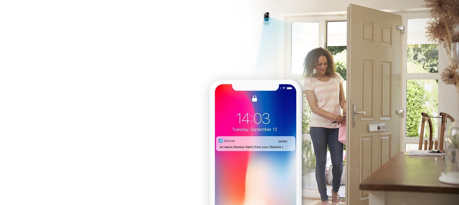 hight resolution of smart pir sensor instant alerts