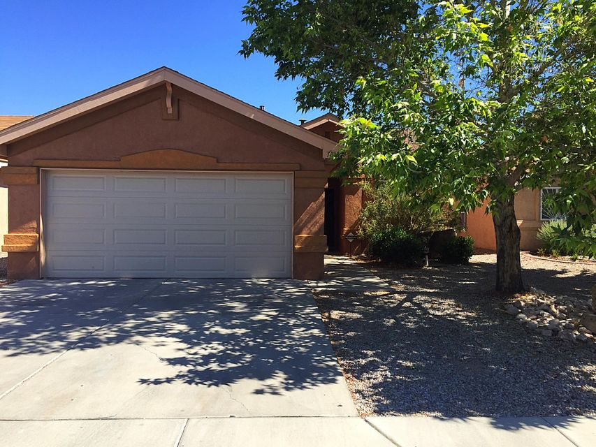 Welcome to 7805 Javelina SW a spacious 3 BR 2 Bath house with open living area. New laminate flooring and updated kitchen. Great floorplan in Southwynd Subdivision. Landscaped backyard with covered patio for entertaining. Move in ready, you will love the layout of this Home!!