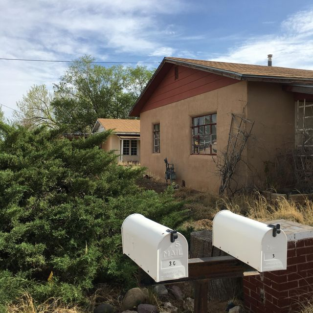 Adobe Home plus Income Producing Rental/Inlaw Quarters.  Rental House is approximately 750 square feet, I bedroom, bath, kitchen and living area. This property is sold in ''AS IS'' condition.  Seller will not pay for inspections or make any repairs.