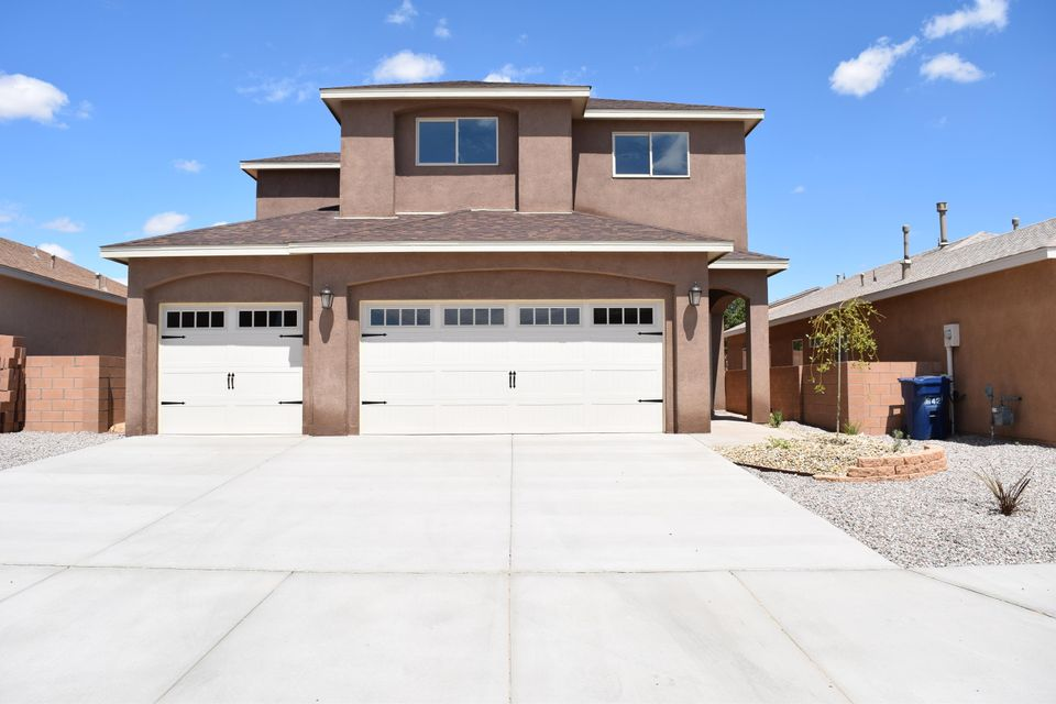 Be prepared to be amazed by this beautiful newly completed home by Mile High Homes. Walk in to the very open and spacious floor plan complete with stylish accents, such as granite counter tops, custom oak cabinetry, oil rubbed bronze fixtures, 18 inch ceramic tile though out bottom floor, tile back splash and fire place surround. Convenience with laundry room upstairs near the 4 spacious bedrooms. The impressive master retreat includes 2 closets, double sinks, granite counter top, lots of cabinet space, separate tub and shower. You'll enjoy entertaining under the back covered patio. This and several other newly completed homes available to choose from or custom design your next home. Model homes open Mon-Sat.