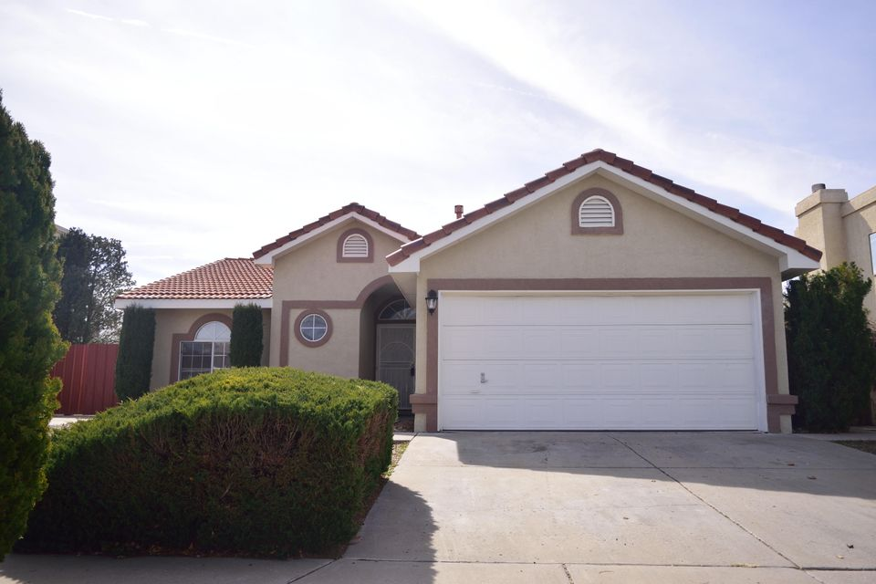 Welcome to this Beautiful Home in Taylor Ranch that is Perfect for a Growing Family!Large Open Living Room that Opens up to Dining Area and Kitchen.Valuated Ceilings Throughout and New Paint and Carpet. Custom Tile Counters in Kitchen and Beautiful Appliances. Ceiling Fans in all 3 Bedrooms and Large Closets for Storage. Side Back Yard Access that is perfect for RV or Boat.Storage Shed, Covered Patio and Huge In Ground Pool! Mature Landscaping add to this Private Yard that is Perfect for Entertaining!Great Location that is close to Shopping, Parks and Schools.