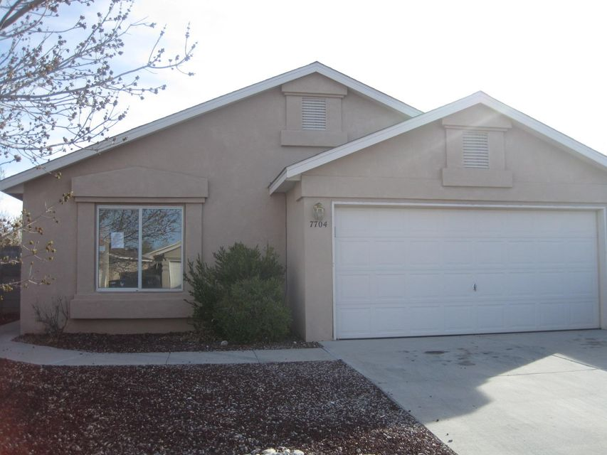 Great buy in Desert Springs Subdivision!  Well maintained 3 bed 2 full bath home with an easy to care for all brick back yard.  Several fruit trees and backs to the park.  Come see this one, you won't be disappointed!