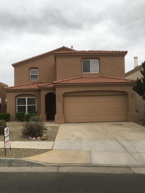 Very nice large 4 bedroom with 2car garage. southwestern styling 2 fireplaces one in the master between bath and qtrs 4 baths!!