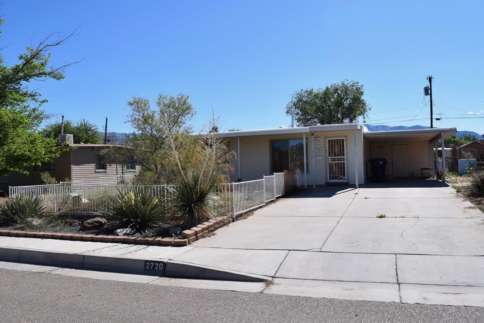 This 3 bedroom home has lots to offer!  It's centrally located in the Uptown area just 1.5 blocks north of Coronado Mall.  The kitchen has quiet close cabinets and beautiful countertops and backsplash!  There is one full bathroom in the center of the home, and it has refrigerated AC and central heating.  There's a carport on the side of the home and a nice Tuff Shed in the backyard.  The home needs new carpet and paint and very minimal repairs - perfect for an investor or a first time home buyer willing to put a little sweat equity into it.  The updated list price is an approved short sale price from the bank.