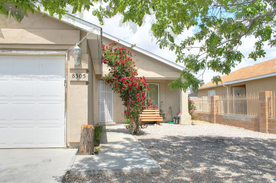 Come see and fall in love with this delightful 3 bedroom, 2 bathroom, home with a 2 car garage, This home includes, beautiful tile throughout the living, kitchen, bathrooms and hallway areas, fresh paint and modern dark chocolate trim. All appliances stay!