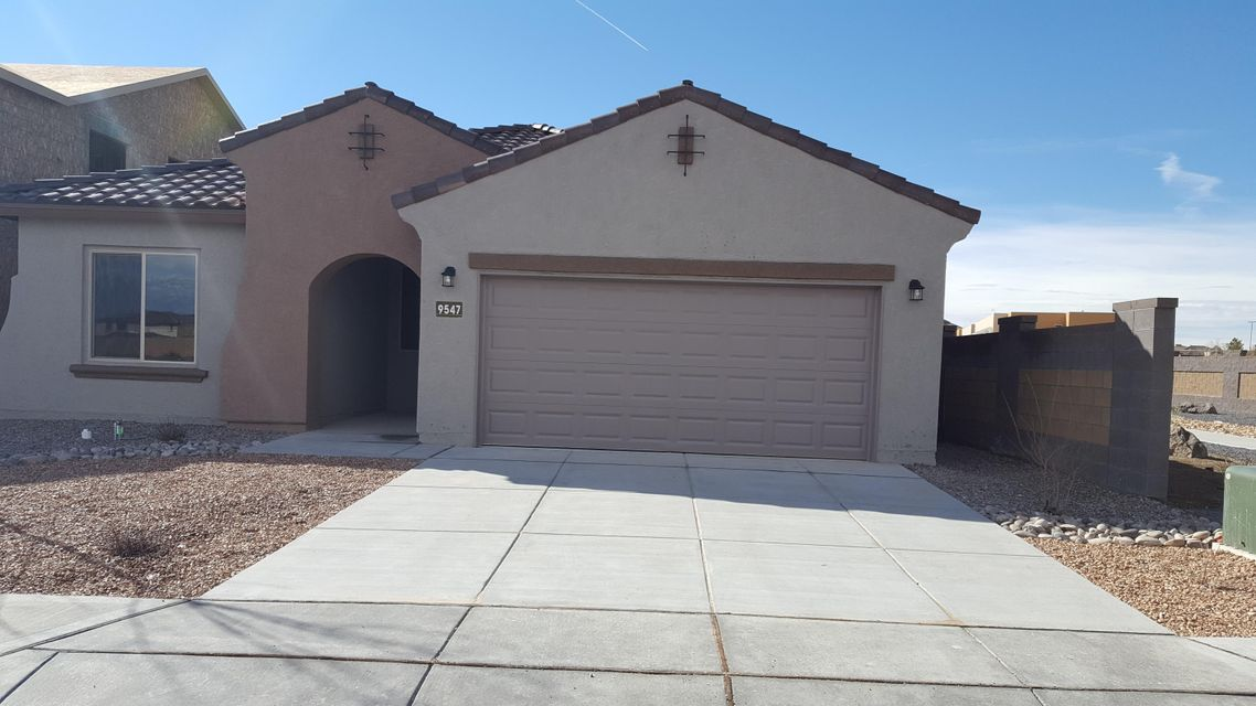 Open for showings today. This brand new, never lived in Gateway home design offers new appliances, flooring, windows, tile roof, A/C, tank-less water heater and more! Gourmet kitchen with upgraded cabinets, granite countertops and stainless steel appliances. Ceramic tile throughout and carpet in bedrooms only. 2.5 car garage for that extra storage. No neighbors to the right or behind you.  Located in the beautiful Boulders master planned community with community parks and walking trails.