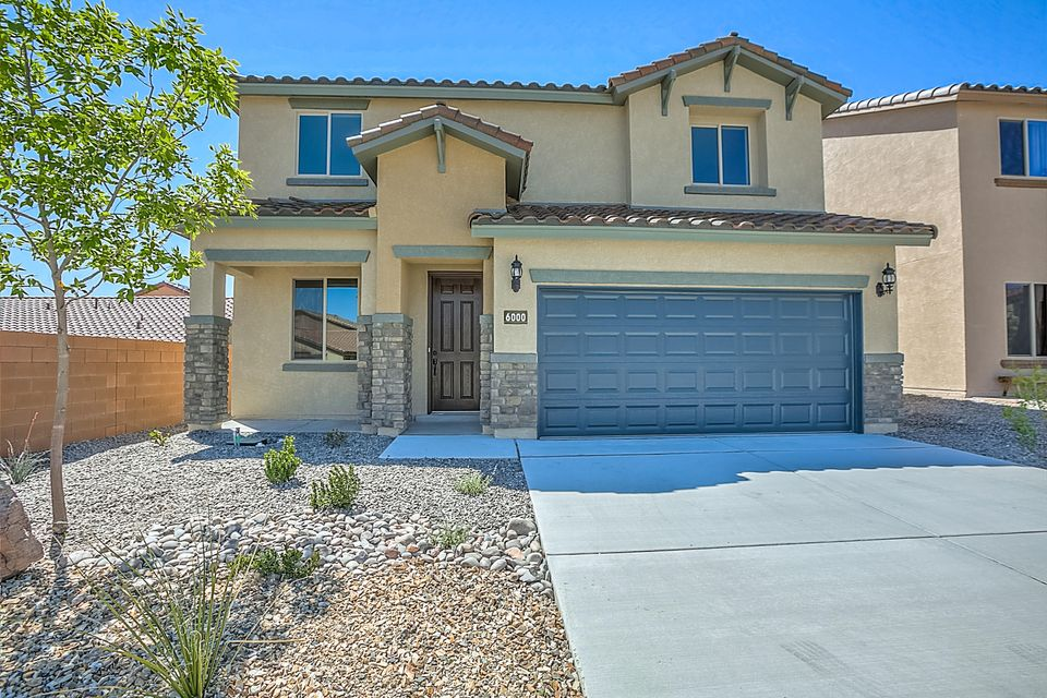 Open for showings today! Brand new, never lived in Pulte home. Enjoy new appliances, carpet, A/C, windows, roof, tank-less water heater & more! This Travertine plan is built with a private den, a guest bedroom & full bath, kitchen and cafe all on the first floor. In the kitchen you'll find upgraded cabinets with crown molding, stainless appliances & granite. The first floor also has beautiful wood tile. A spacious loft on the second floor is great for family movie nights or game nights. The large covered patio provides an extra living space great for entertaining. Upstairs you'll also find the owner's suite & two more bedrooms. Save money on utilities with our energy efficient features you won't find in an older home like Low-E windows, better insulation, energy rated appliances & more.